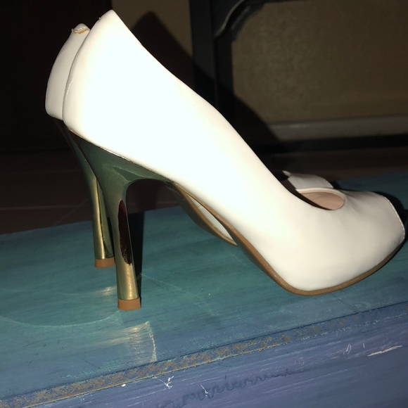 fe5af5c5e4d Daphne 230 white patent heels
